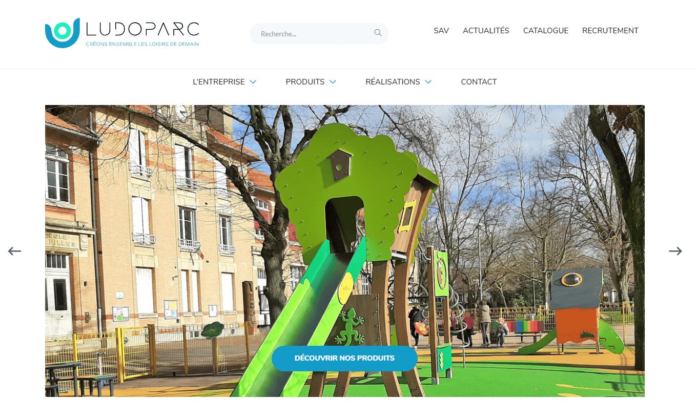 Ludoparc lance son nouveau site web www.ludoparc.fr